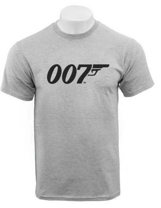 007 t-shirt in grey