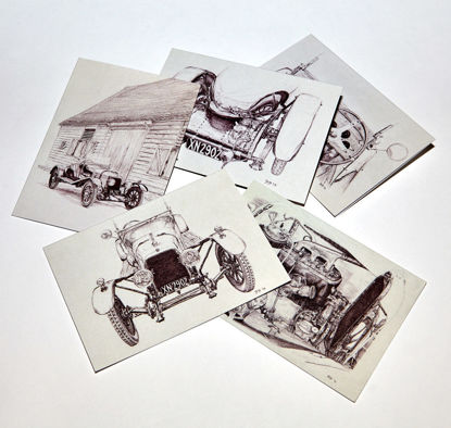 Picture of A3 Notelets - pack of 10