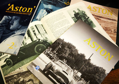 ASTON - the journal of the AMHT