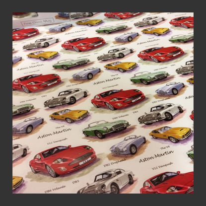 Picture of Gift Wrap - Many Astons