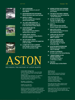 Picture of ASTON Journal Numbers 16-18