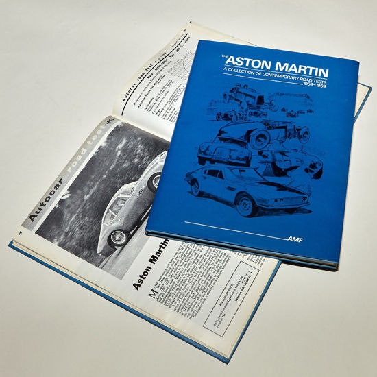 Picture of Aston Martin Road Tests 1959-1969 (Blue)